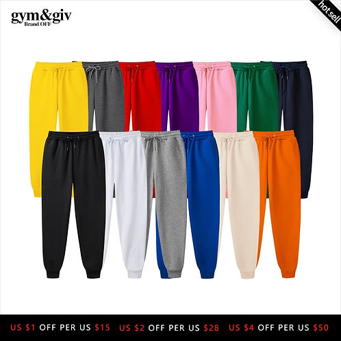2019 New Ms. Joggers Brand Woman Trousers Casual Pants Sweatpants