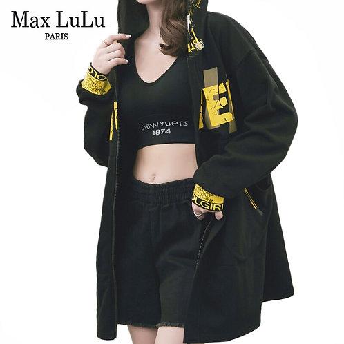 Max LuLu Autumn European Luxury Fashion Designer Ladies