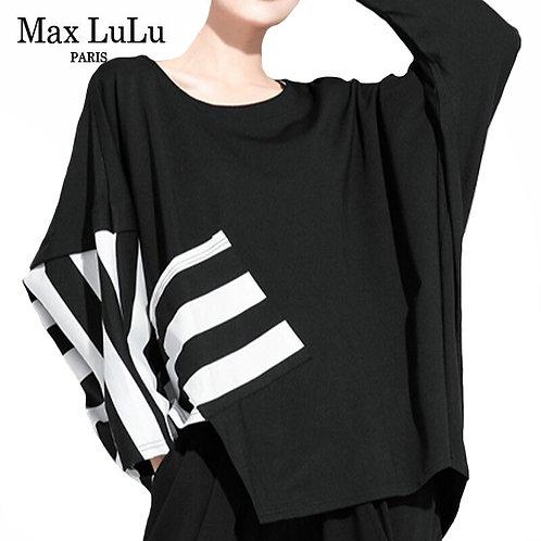 Max LuLu New Autumn Korean Fashion Style Womens Punk Tee Shirts