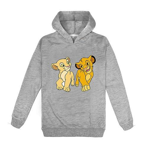Kids Hoodies King Lion Sweatshirts Toddler Baby Clothing Boys Girl