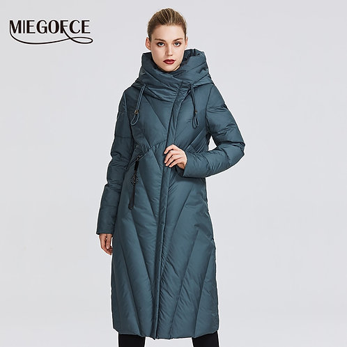 MIEGOFCE 2020 New Collection Women Coat With a Resistant