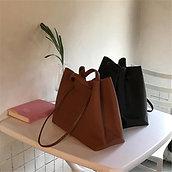 2020 New Style Women's Bag, Korean Style, Big Bag, Baozi,