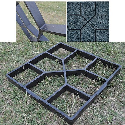 Garden Walk Pavement Mold DIY Manually Paving Cement Brick