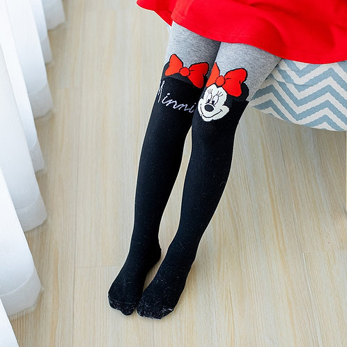 Disney Tights for Girls Soft Cotton Girls Tights Thin Kids Stockings