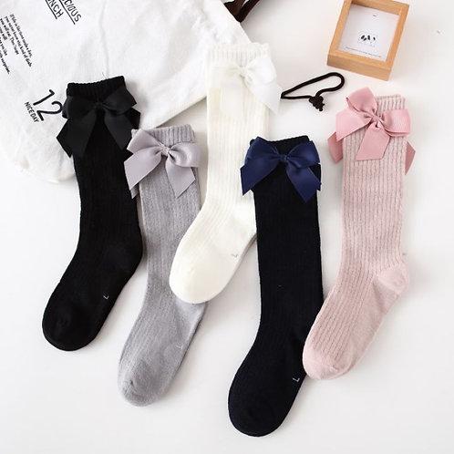 Baby Girl Socks Autumn Knee High Princess Socks for Girl Sweet