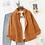 Thumbnail: Chemises en velours côtelé Femme Hauts et chemisiers à manches longues Printemps