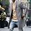 Thumbnail: 2019 Autumn Winter New Men's Slim Fit Wool Coat Male Cashmere