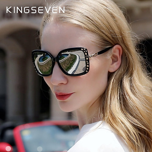 KINGSEVEN Elegant Young Women's Glasses Polarized S