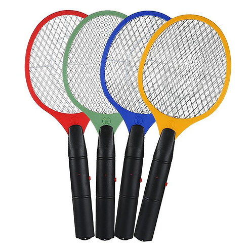 1 Pcs 5 Color Electric Hand Held Bug Zapper Insect Fly Swatter