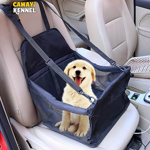 CAWAYI KENNEL Travel Dog Car Seat Cover Folding Hammock