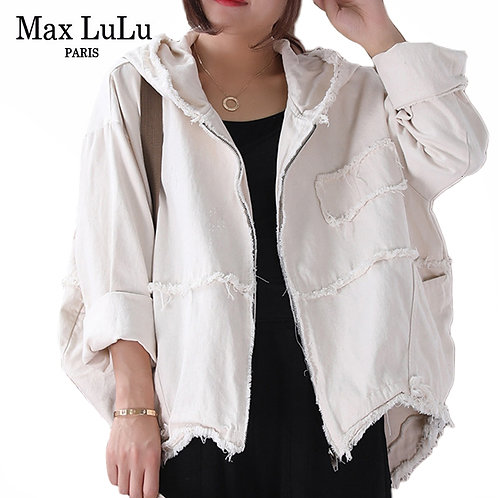 Max LuLu 2019 Fashion Korean Punk Streetwear Ladies Hooded