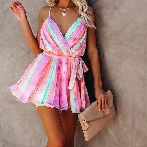2020 Multicolor Bikini Cover-Ups Sexy Sleeveless Loose Summer