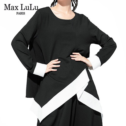 Max LuLu Autumn Luxury Brand 2020 New Ladies Punk Tee Shirts