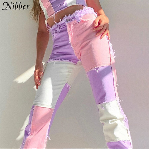 NIBBER Fashion 2020 Women High Waist Street Wear, Hip Hop