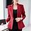 Thumbnail: PEONFLY  Autumn 2019 Ladies Blazer Long Sleeve Women Suit