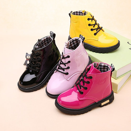 New Children Shoes Boots for Children Size 21-37 Martin Boots