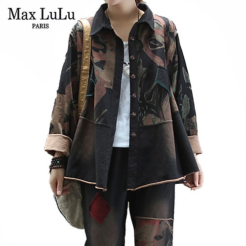 Max LuLu 2020 Fashion Style Autumn Ladies Tops and Pants Two Piece