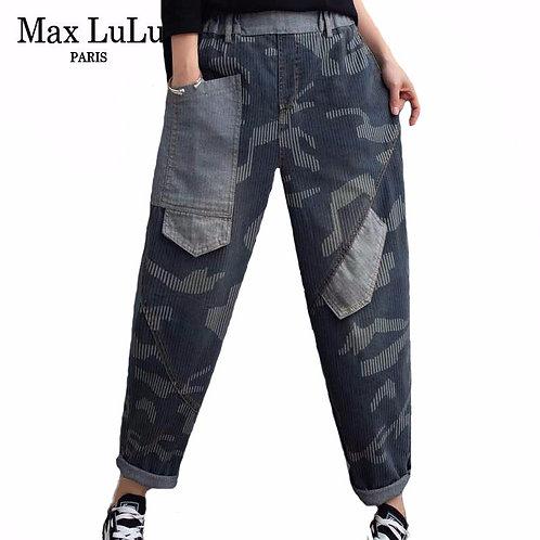 Max LuLu Autumn Korean Fashion Style Ladies Vintage Harem