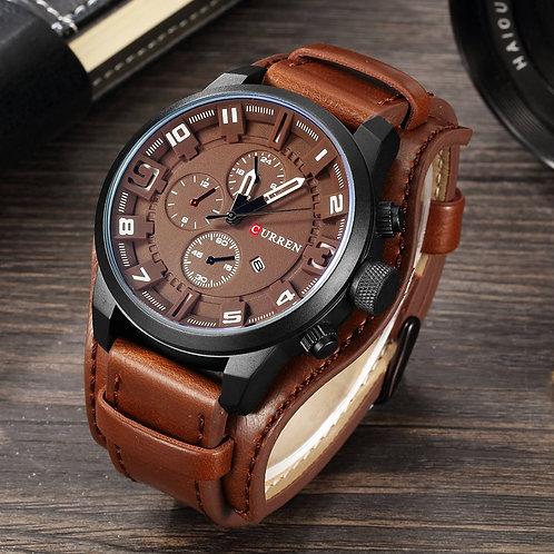 CURREN Top Brand Luxury Mens Watches Male Clocks Date