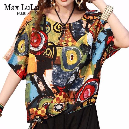 Max LuLu 2020 New European Fashion Style Summer Ladies Vintage