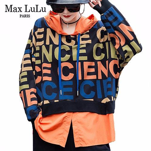 Max LuLu New 2020 Autumn Fashion Streetwear Ladies Patchwork