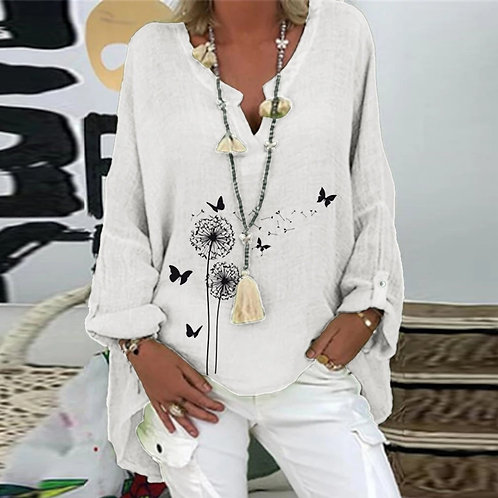 Brand Blouses Woman Summer O-Neck Big Size Tunic Tops 2020