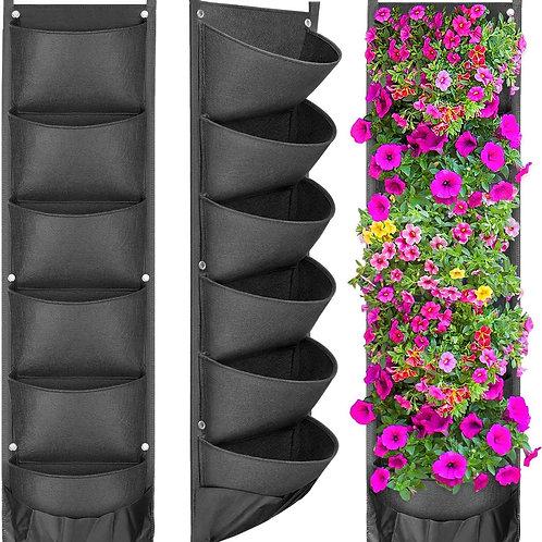 NEW DESIGN Vertical Hanging Garden Planter Flower Pots Layout