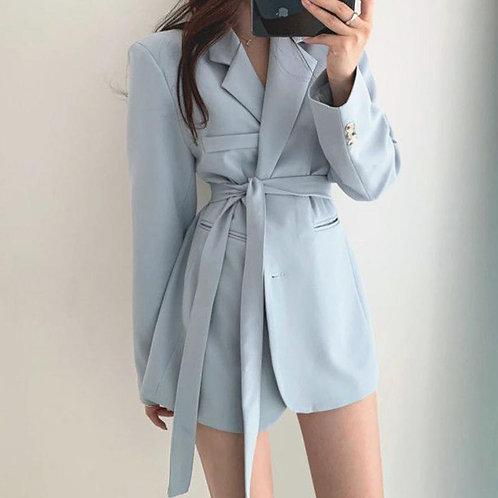 Z-Zoux Women Blazer Single Breasted Long Sleeve Ladies Blazer
