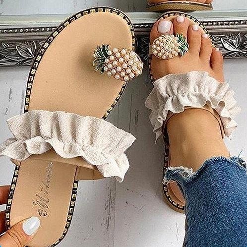 2020 Hot Summer Women Sandals Slippers Shoes Flat