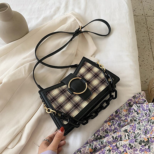 Retro Plaid Crossbody Bags for Women 2020