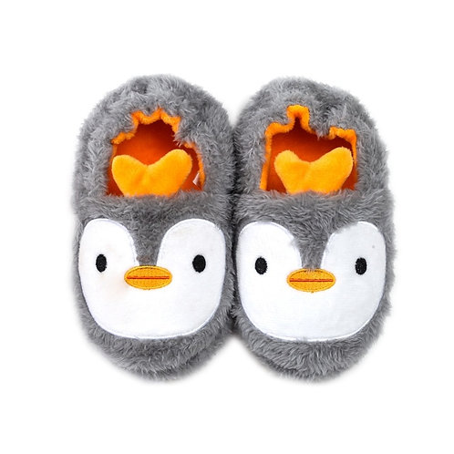 2019 Winter Cute Penguin Kids Slippers Comfortable Baby Warm