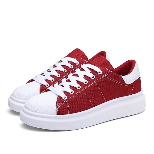 Men Women Unisex Chunky Skateboarding Shoes Low-Top Trainers