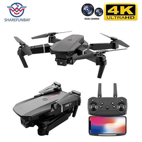 SHAREFUNBAY E88 Pro Drone 4k HD Dual Camera Visual Positioning