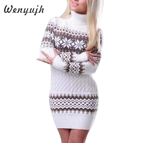 WENYUJH 2020 Autumn Winter Sweater Women Long Sleeve Sweater