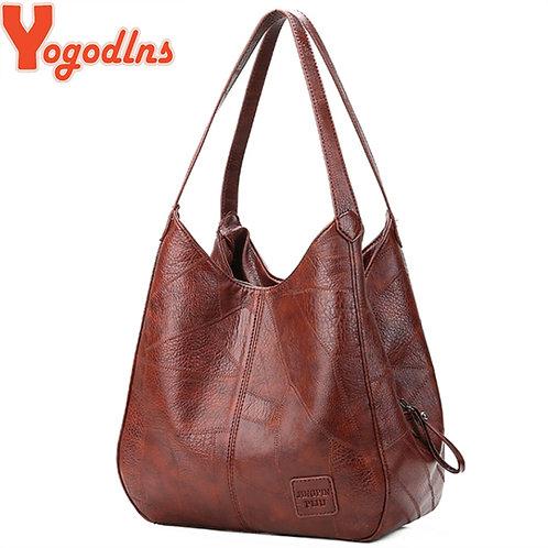 Yogodlns Vintage Women Hand Bag Designers Luxury Handbags Women