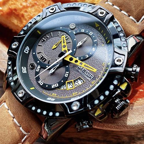 MEGIR Creative Quartz Wristwatch Men Watch Waterproof
