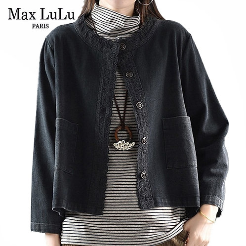 Max LuLu 2020 New Korean Fashion Designer Streetwear Womens