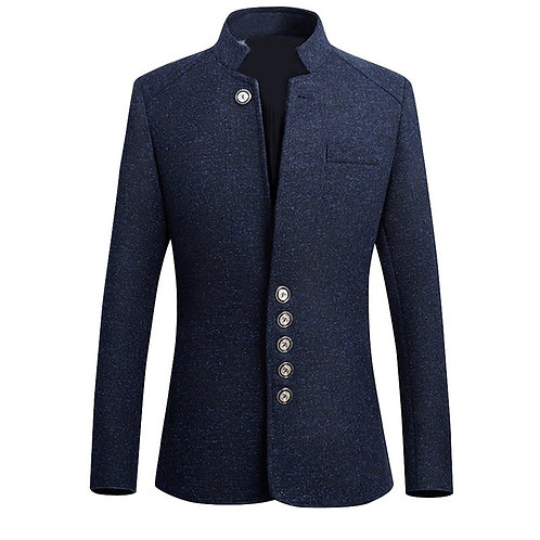 2020 Brand Mens Vintage Blazer Coats Chinese Style Business
