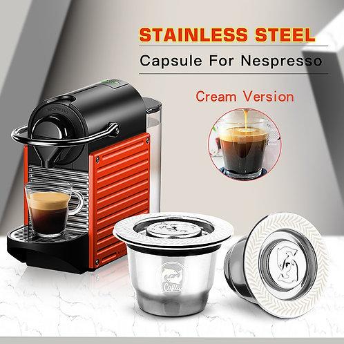 iCafilas for Reutilisable Refillable Capsule Crema Espresso Reusable