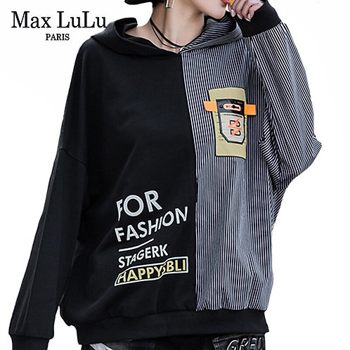 Max LuLu 2020 Korean Fashion Womens Casual Clothes Ladies
