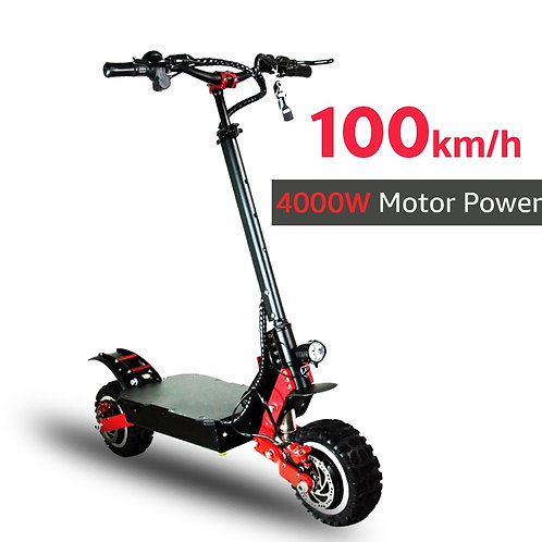 4000W 60V Off Road Electric Scooter 100 KM/H Electric Motor
