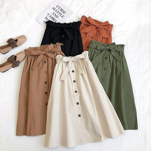 FairyShely 2020 Long Skirt Women New Spring and Summer