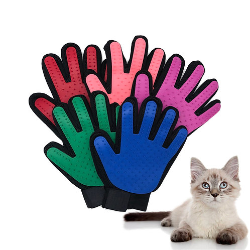 Cat Grooming Gloves for Cats Pet Gloves Pet Hair Deshedding
