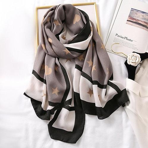 Desigual Women Spring Scarf Cotton Hijab Shawls
