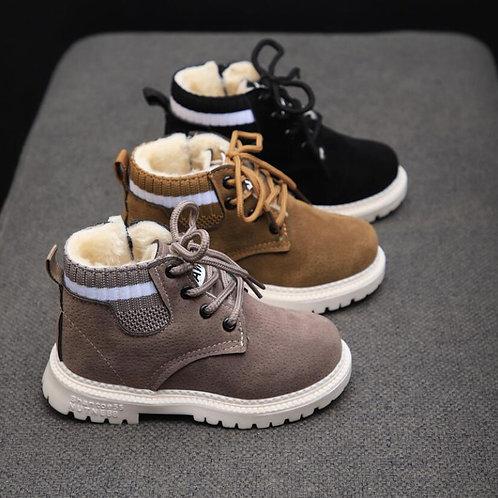 Children Casual Shoes Autumn Winter Martin Boots Boys Shoes