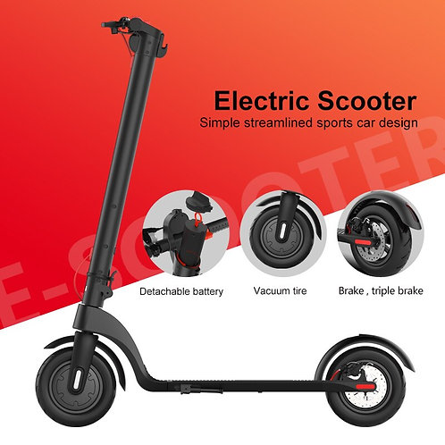 2020 New Folding Electric E- Scooters Adults Hub Motor Scooter