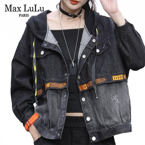 Max LuLu 2020 Korean Fashion Ladies Patchwork Clothes Womens