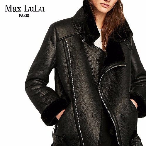 Max LuLu Luxury Spain Brand Thicken Warm Women Faux