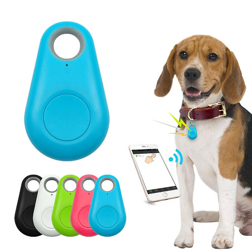Pet Smart GPS Tracker Mini Anti-Lost Waterproof Bluetooth Locator