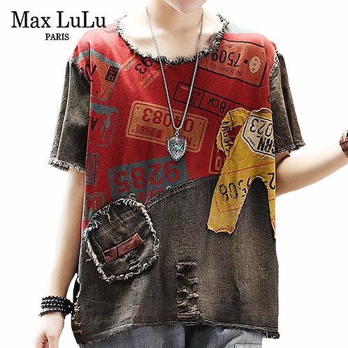 Max LuLu 2020 New Summer European Fashion Style Ladies Vintage